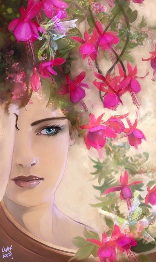 Femme qui se regarde dans un miroir for Se voir dans un miroir