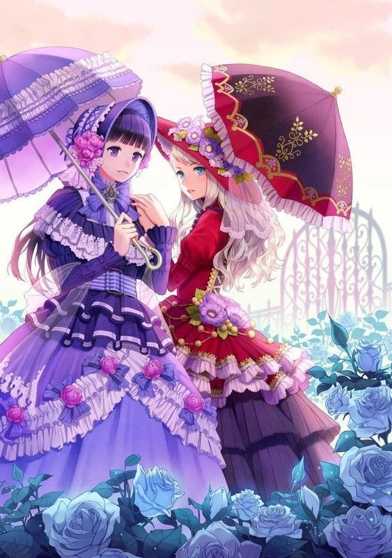 Mangas filles avec de superbes robes 248