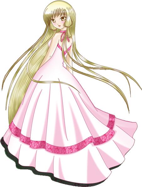 Manga fille avec une belle robe 83 - Dessin de fille belle ...